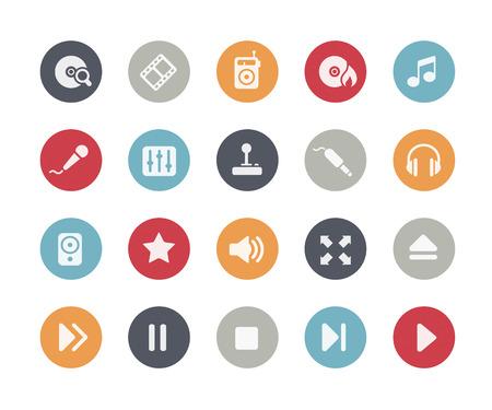 classics: Media Player Icons Classics Series