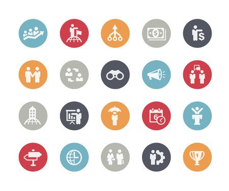 man vector: Business Concepts Icon Set  Classics Series