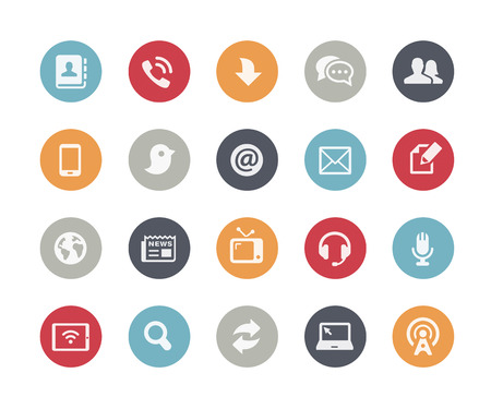 Media Communications Icons  Classics Series