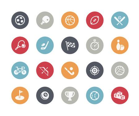 スポーツ アイコン クラシック シリーズ  イラスト・ベクター素材