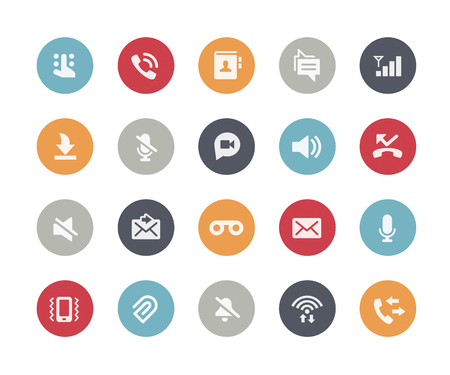 call history: Web and Mobile Icons 1  Classics Series Illustration