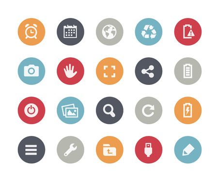 schedule system: Web and Mobile Icons 3  Classics Series