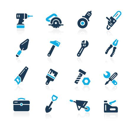 work tools: Herramientas Iconos Azure Series