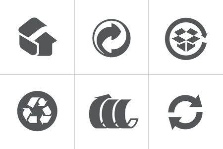 recycle symbol vector: Recycled Symbols