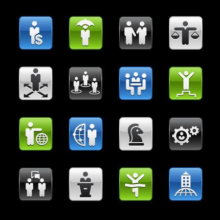 glossy buttons: Progettazione Successo e Business Strategies Tasti Lucidi - Gelbox Series