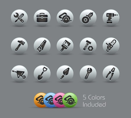 pearly: Tools Icons -- Pearly Series