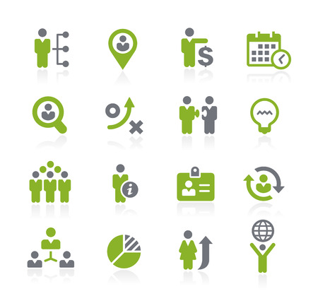human: Human Resources Icons -- Natura Series