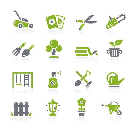 Gardening Icons -- Natura Series  イラスト・ベクター素材