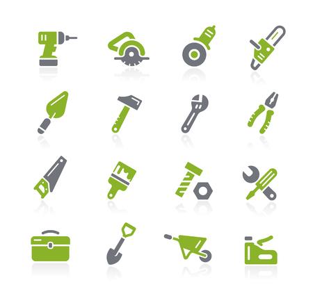 Tools Icons -- Natura Series Stock Illustratie
