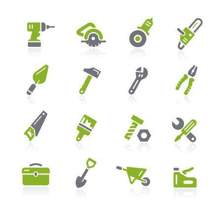 natura: Tools Icons -- Natura Series Illustration