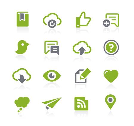 Social Sharing Icons -- Natura Series