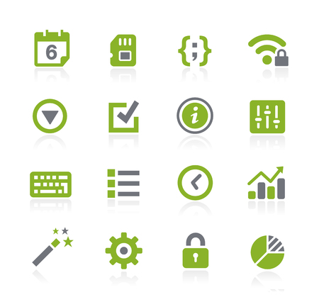 settings: System Settings Icons -- Natura Series