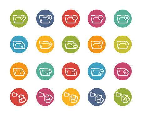 folder icons: Folder Icons - 1 of 2 -- Printemps Series