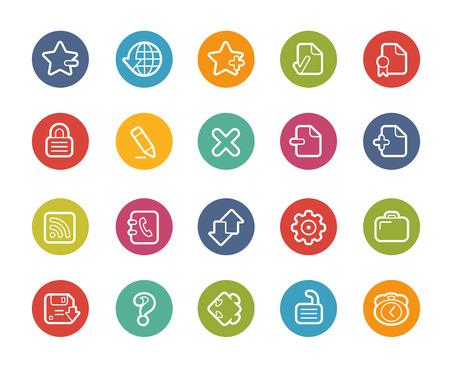 web icons: Web Icons -- Printemps Series
