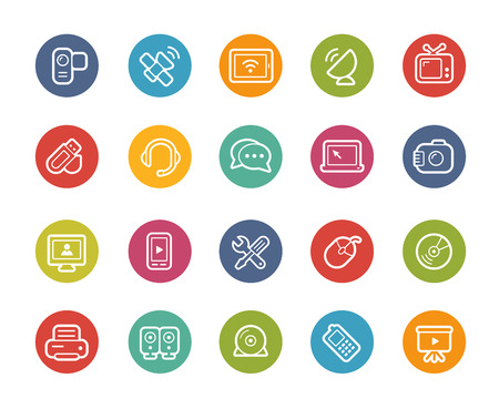 circle icon: Communications Icons -- Printemps Series