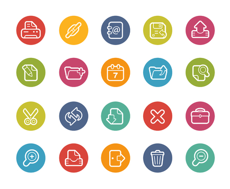 download link: Web Interface Icons-- Printemps Series