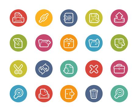 web icons: Web Interface Icons-- Printemps Series