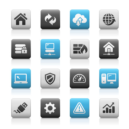 series: Web Developer Icons - Matte Series Illustration
