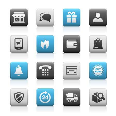 E-Shopping Icons -- Matte Series