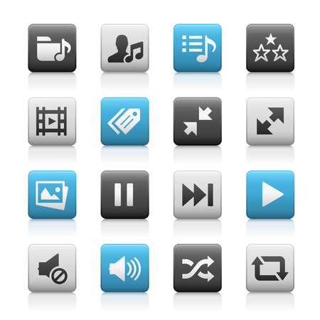series: Web and Mobile Icons 7 - Matte Series Illustration