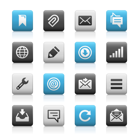 series: Web and Mobile Icons 9 - Matte Series Illustration