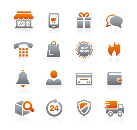 grafit: E-Shopping Icons - Graphite Series
