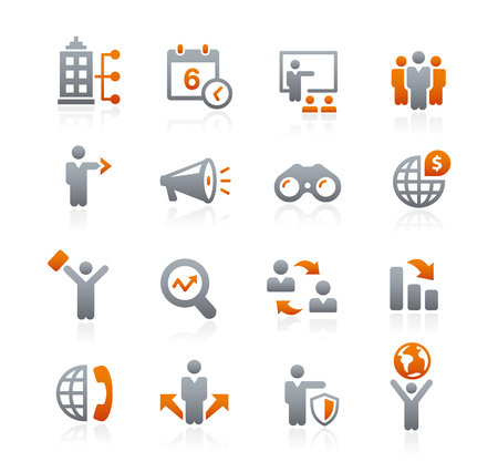 Business Opportunities Icons - Graphite Series