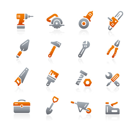 graphite: Tools Icons - Graphite Series