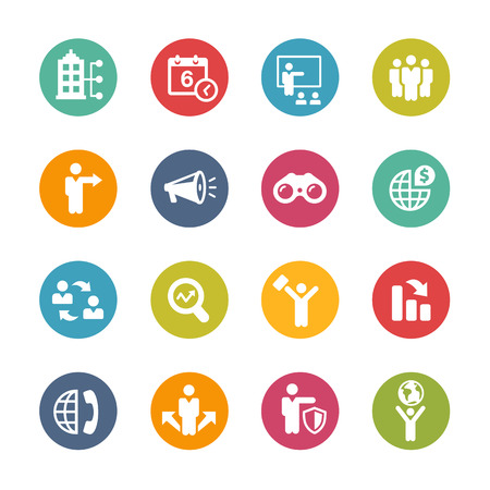 series: Business Opportunities Icons - Fresh Color Series
