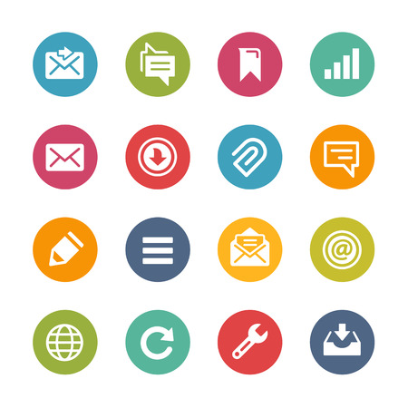 Web and Mobile Icons 9 - Fresh Color Series