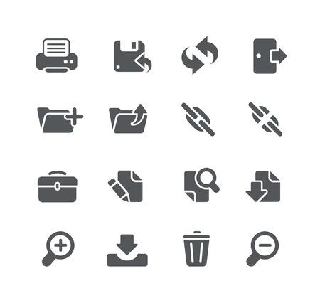Web und Software Development Icons - Allzweck Serie