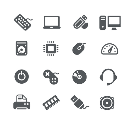 desktop printer: Computer components Icons - Utility Series
