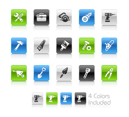 gimlet: Tools Icons - Clean Series