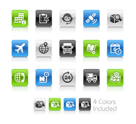 Shipping and Tracking Icons - Clean Series