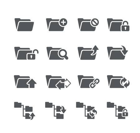 moving site: Folder Icons 1 - Utility Series