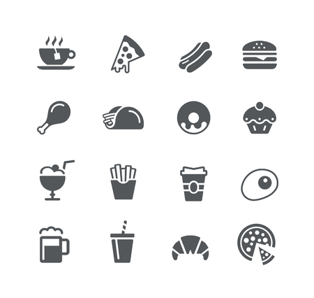 utility: Food Icons 1 - Utility Series