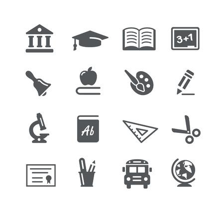 utilities: Education Icons - Utility Series