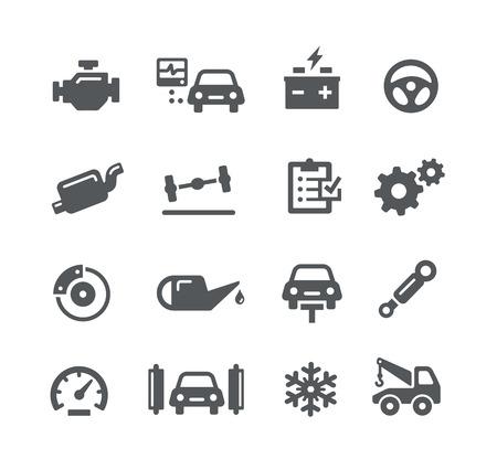 Car Service - Ikony Series Utility
