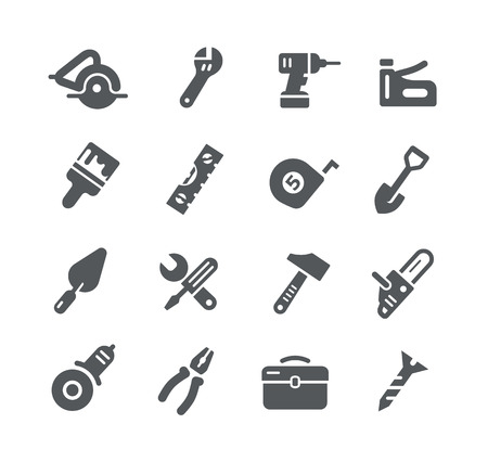 bricolage: Tools Icons -- Utility Series