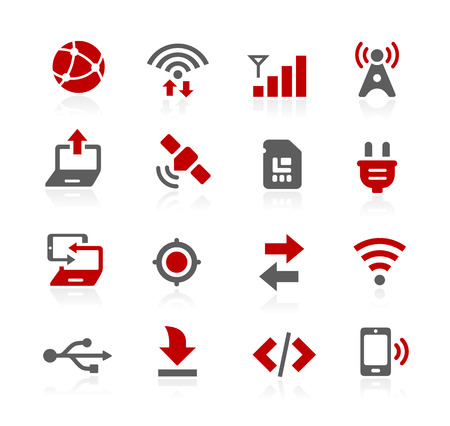 operating system: Connectivity Icons - Redico Series