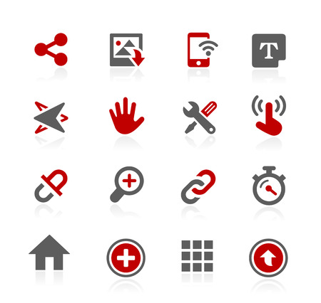 human touch: System Icons Interface - Redico Series