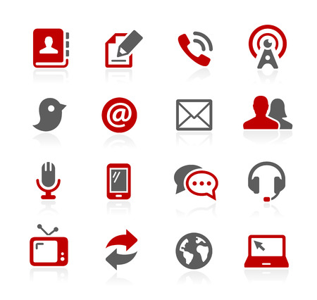 Communications Icons- Redico Series