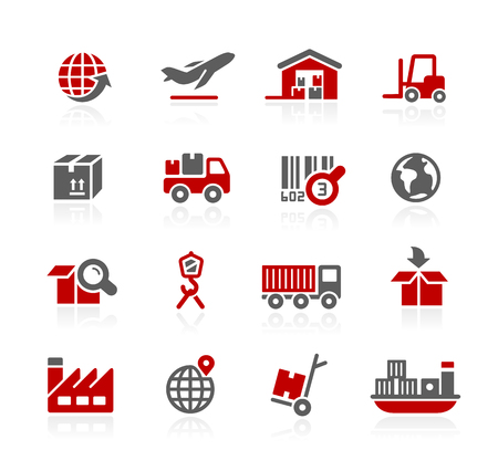 hangar: Industry and logistics Icons - Redico Series