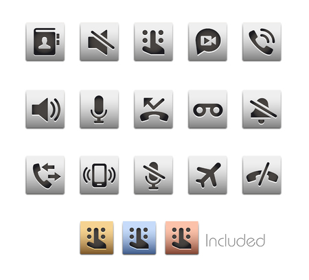 hush hush: Interface Icons 1  The file includes 4 color versions in different layers.