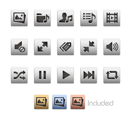 includes: Interface Icons 7  The file includes 4 color versions in different layers.