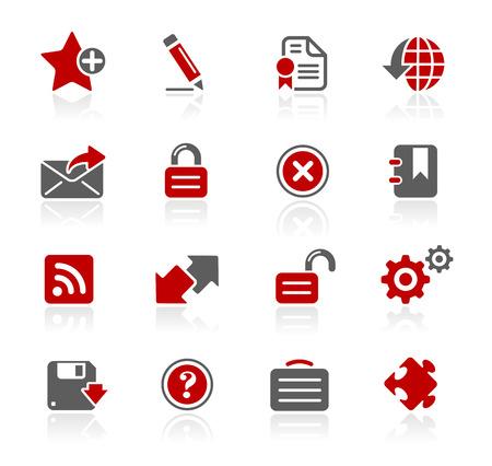 通信: Web 2.0 Icons - Redico Series
