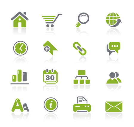 web site: Web Site Icons - Natura Series Illustration