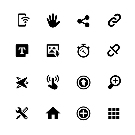 digital: System Icons - Black Series -- Vector icons for your digital or print projects.