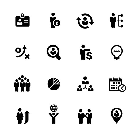 Efficient Business Icons - Black Series -- Vector icons for your digital or print projects.