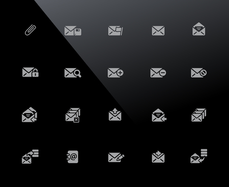 E-mail Icons 32px Series - Vector icons adjusted to work in a 32 pixel grid.